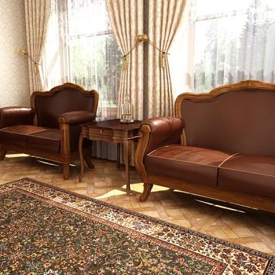 Zestaw klasyczny – meble stylizowane PADOVA