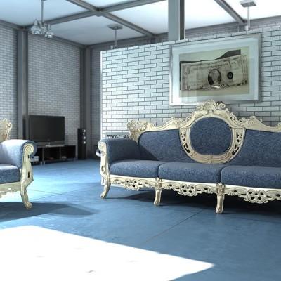 Sofa stylizowana VERONA